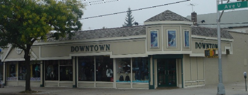 Downtown clothing store ave u